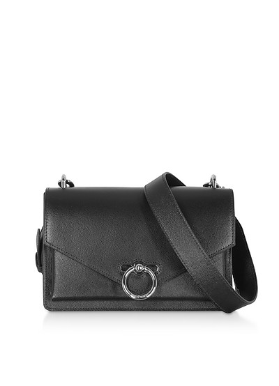 Jean Medium Caviar Shoulder Bag - Rebecca Minkoff
