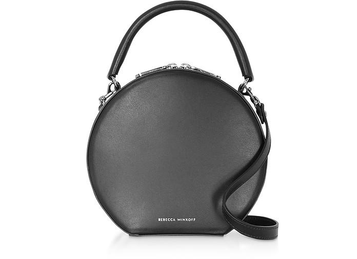 Nappa Leather Circle Crossbody Bag - Rebecca Minkoff
