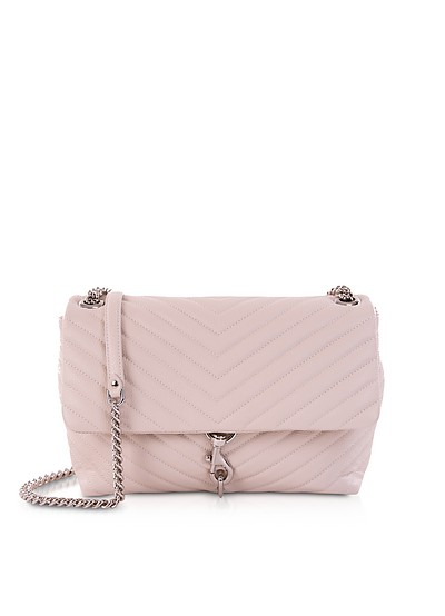 Quilted Leather Edie Flap Shoulder Bag - Rebecca Minkoff
