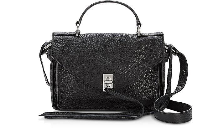 Pebble Leather Mini Darren Messenger Bag - Rebecca Minkoff
