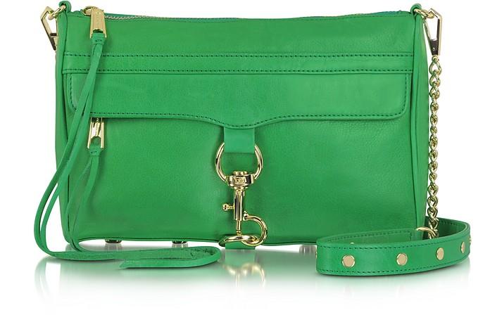 Genuine Leather Mac Clutch/Shoulder Bag - Rebecca Minkoff