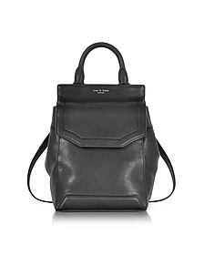 Black Leather Small Pilot Backpack II - Rag & Bone