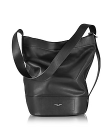 Black Leather Walker Sling Bucket Bag - Rag & Bone