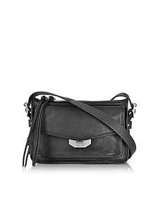Black Leather Small Field Messenger Bag - Rag & Bone