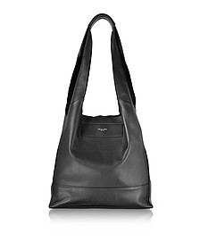Black Leather Walker Shopper Tote Bag - Rag & Bone