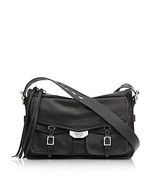 Black Leather Field Messenger Bag - Rag & Bone