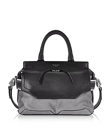 Granite Colorblock Leather Pilot Satchel Bag - Rag & Bone