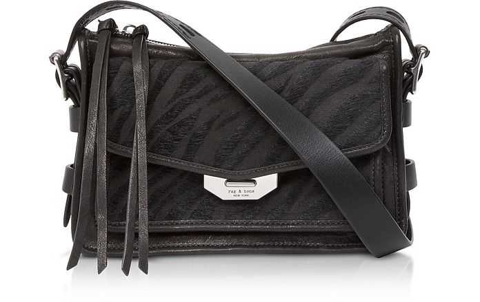 Black Zebra  Small Field Messenger Bag - Rag & Bone