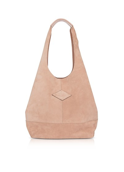 Nude Suede Camden Shoulder Bag - Rag & Bone