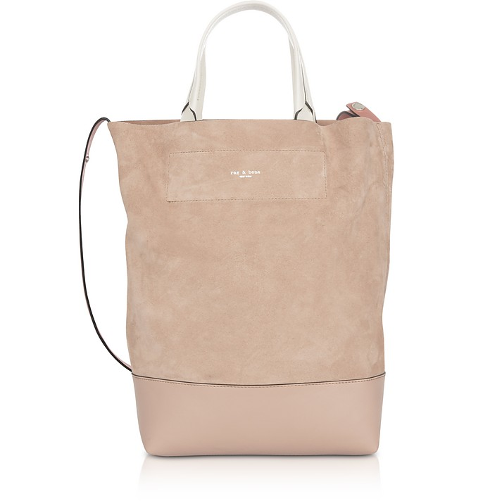 Nude Suede Walker Convertible Tote Bag  - Rag & Bone
