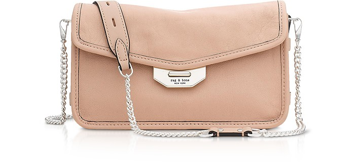 Nude Leather Field Clutch - Rag & Bone