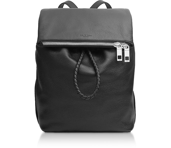 Black Leather Loner Backpack - Rag & Bone