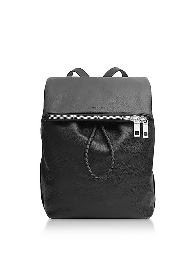 Black Leather Loner Backpack - Rag & Bone