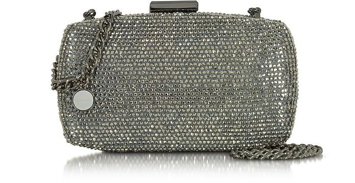 Hardcase Crystals Clutch w/Chain - Roccobarocco