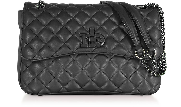 RB Releve Quilted Eco Leather Shoulder Bag - Roccobarocco