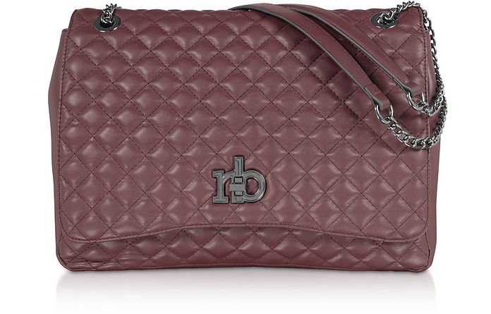 RB Small Releve Quilted Eco Leather Shoulder Bag - Roccobarocco