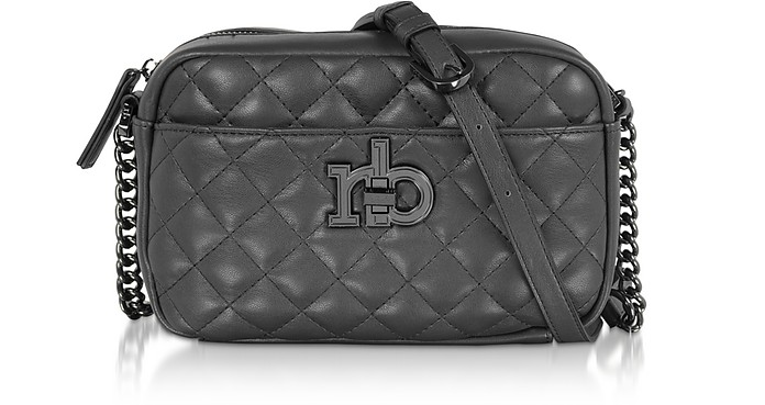 RB Releve Quilted Eco Leather Camera Bag - Roccobarocco