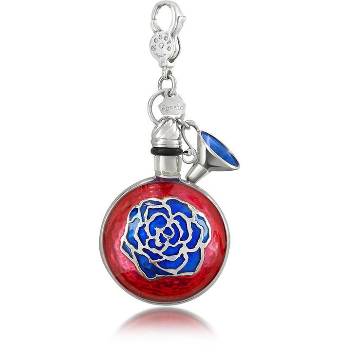 Very Rosato - Round Sterling Silver Perfume Holder Pendant  - Rosato