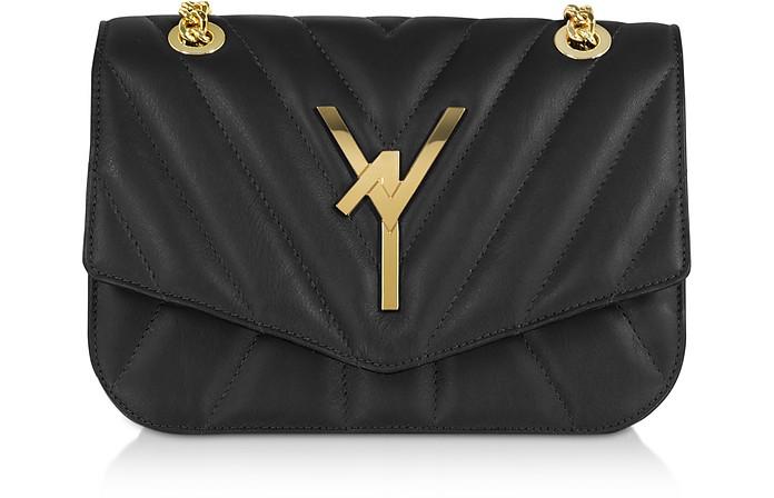 Arcadia Quilted Leather Shoulder Bag - Atelier V1