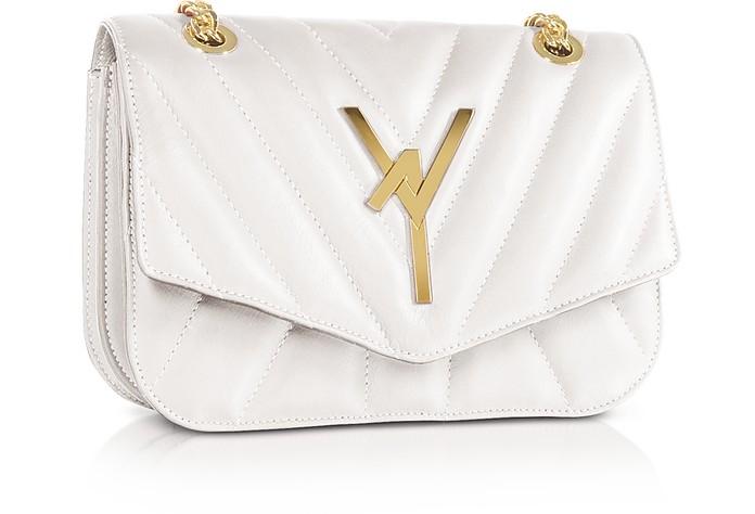 Arcadia Quilted Leather Shoulder Bag