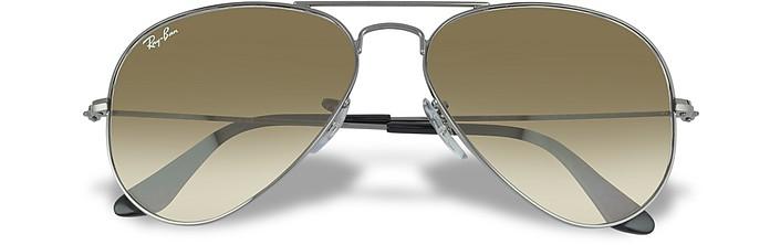 Aviator - Large Metal Sunglasses - Ray Ban