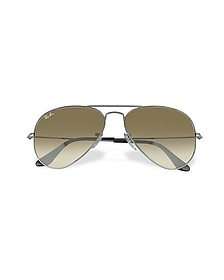 Aviator - Grosse Sonnenbrille aus Metall - Ray Ban