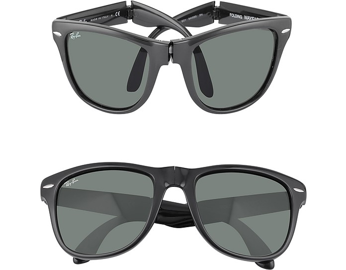 Wayfarer Folding Square Acetate Sunglasses