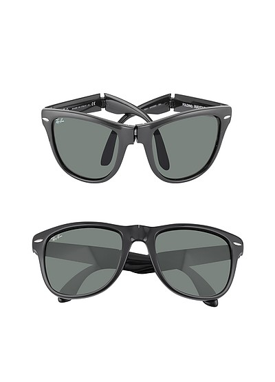 Wayfarer Folding - Square Acetate Sunglasses - Ray Ban