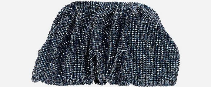 Venus La Petite Blue Crystal Clutch - Benedetta Bruzziches