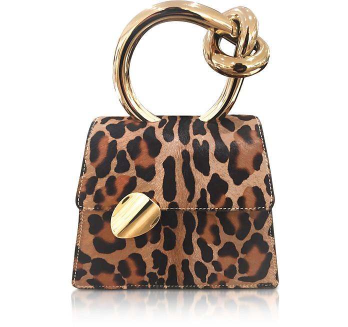 Brigitta Small Leopard Animalier Satchel - Benedetta Bruzziches / ベネデッタブルジッチ