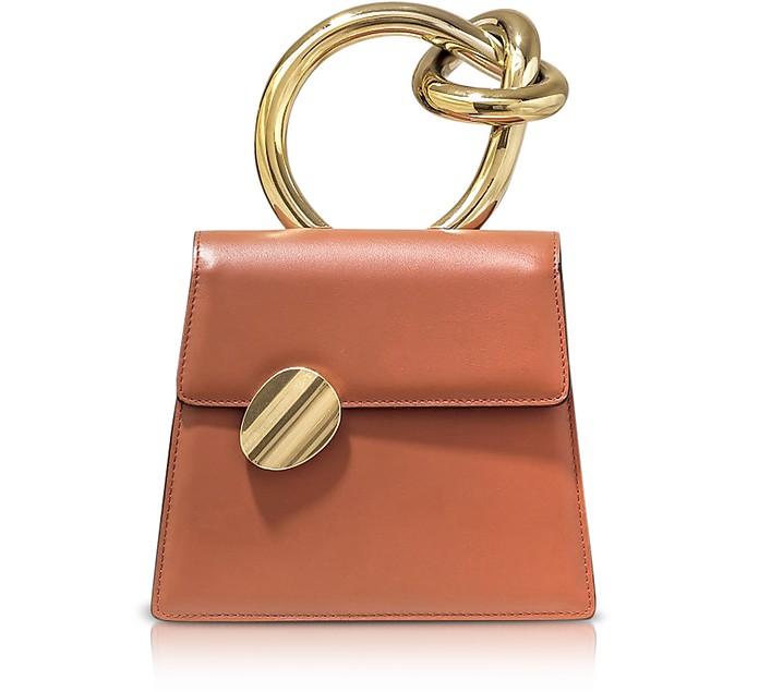 Brigitta Small Conchiglia Light Rose Satchel Bag - Benedetta Bruzziches