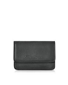 Suede Credit Card Holder