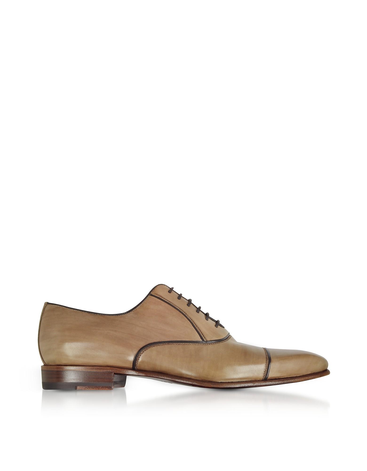 Santoni Boucle Chaussures Tissées - Gris