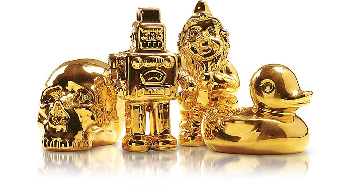 Goldies - Gold-Plated Porcelain Statuettes - Seletti