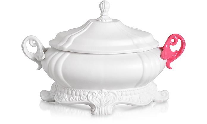 Versailles Fluo - Fine Porcelain Soup Bowl - Seletti