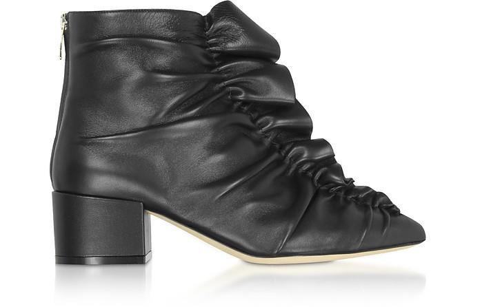 Sergio Black Light Ankle Boots - Sergio Rossi