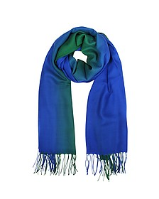 Cashmere and Wool Fringed Stole - Mila Schon