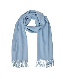 Cashmere and Wool Fringed Long Scarf - Mila Schön