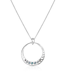 Sterling Silver Pendant Necklace - Sho London