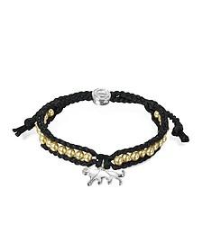 Jaguar Friendship Silk Bracelet - Sho London