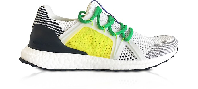 Ultraboost S White Running Sneakers - Adidas Stella McCartney