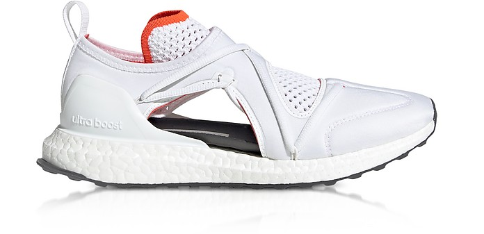 Ultraboost T White Nylon Running Sneakers - Adidas Stella McCartney