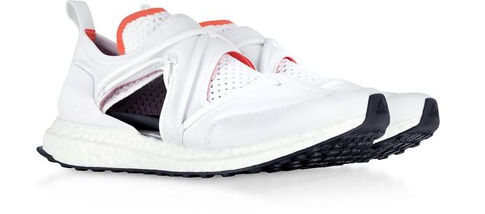 Ultraboost T White Nylon Running Sneakers