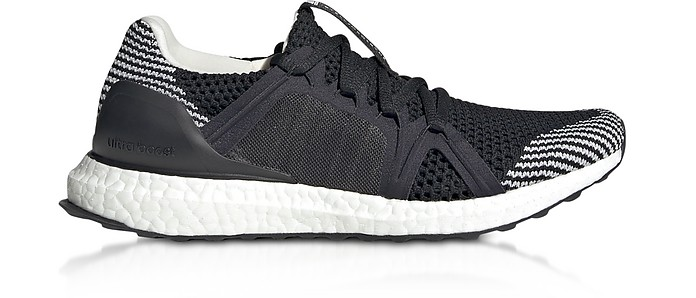 Ultraboost S Black and White Running Sneakers - Adidas Stella McCartney