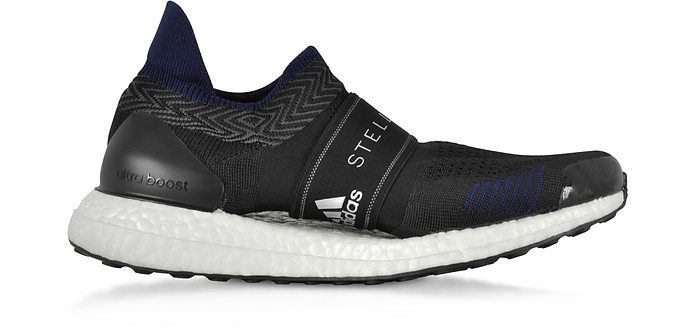 Ultraboost X 3.D Black Running Sneakers - Adidas Stella McCartney