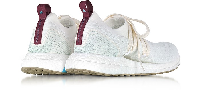 2ed80c38390 Off White and Vapour Green Parley UltraBOOST Women s Sneaker - Adidas  Stella McCartney.  220.00 Actual transaction amount