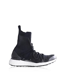 Core Black and Night Grey Ultraboost X Mid Top Trainers - Adidas Stella McCartney