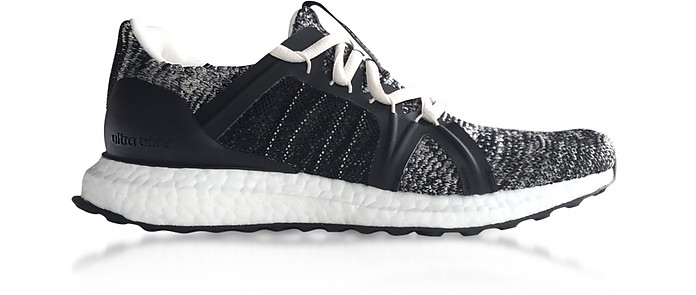 54d015c86 Core Black and Chalk White Ultraboost Parley Trainers - Adidas Stella  McCartney