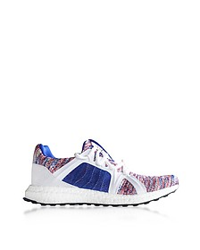 Hi-Res Blue, Core White and Dark Callisto Ultraboost Parley Trainers - Adidas Stella McCartney