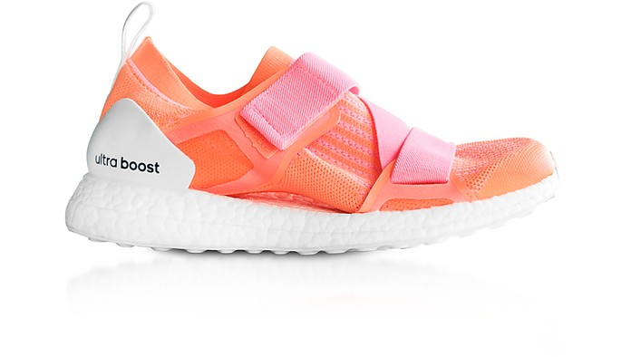adidas Designer Shoes, Glow and Hyper Pop Ultraboost X Trainers